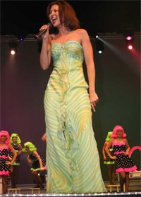 performing at Miss Louisiana 2008