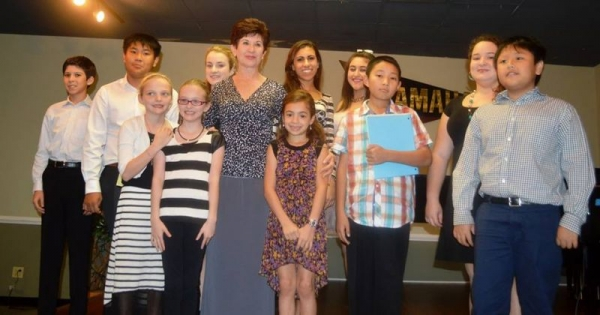 Recent recital for my younger students, at Piano Distributors, Sarasota, FL.