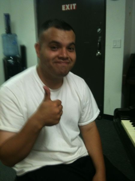 Another student, a musician that I am teaching the basics to help with his recording/producing career.