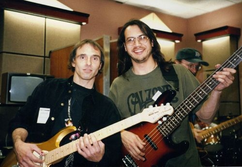 Jamming at the BBC in Newcastle UK circa 1995.