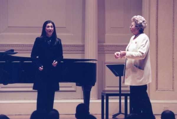 Performing at Carnegie Hall
