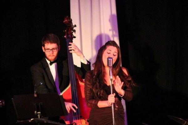 New Year's eve gig with a jazz singer.
