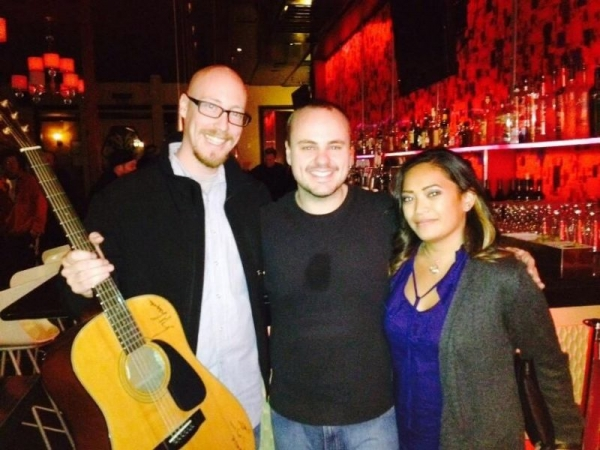 Meeting Andy McKee!