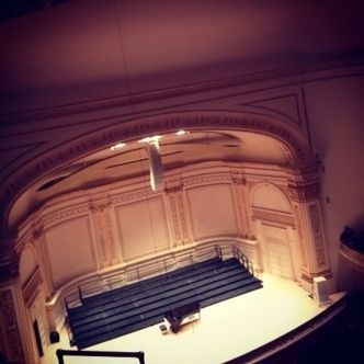 The Stage is Yours!  Performing Carnegie Hall in New York City in 2013.