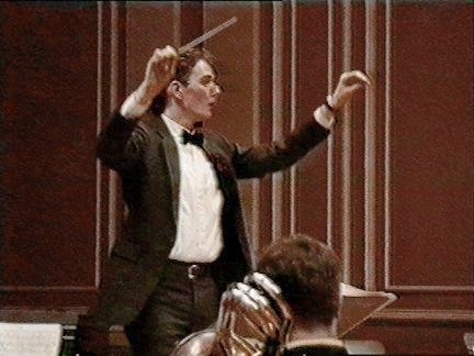 "Conducting Barber's ""Mutations from Bach"" - Boston."