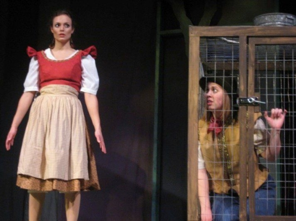 Gretel in Hansel and Gretel with Wheaton College