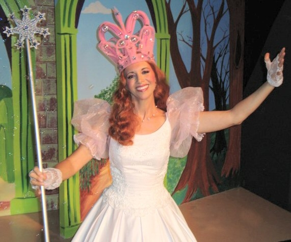 "Starring as Glinda in a musical (""The Wonderful Wizard of Oz"") performed in Hawaii."