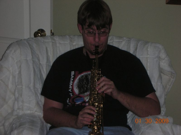 Playing the Soprano Saxophone for the first time and realizing how awesome an instrument it is.