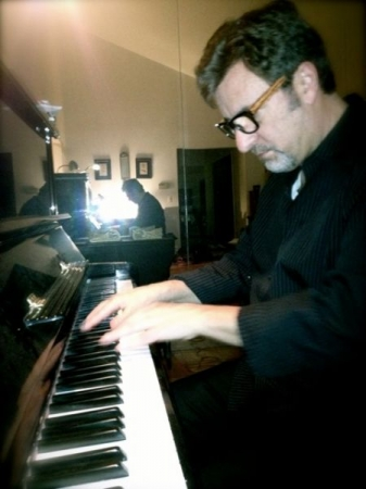 Charlie Clarke pianist practices too!