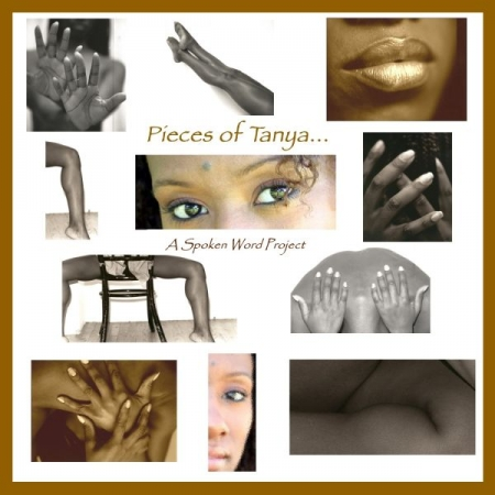 Album cover Pieces of Tanya...A Spoken Word Project