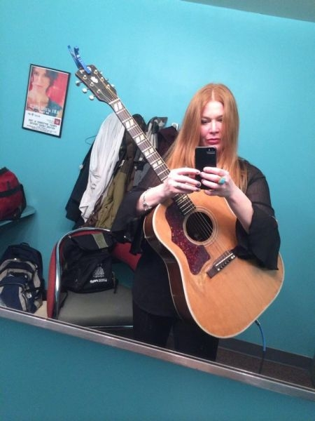 Backstage at The Fargo Theater 2/2014