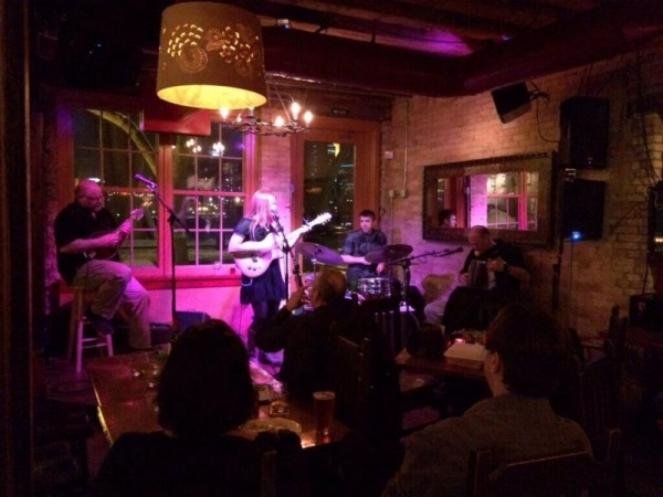 With my band at The Aster Cafe in Minneapolis 3/2014