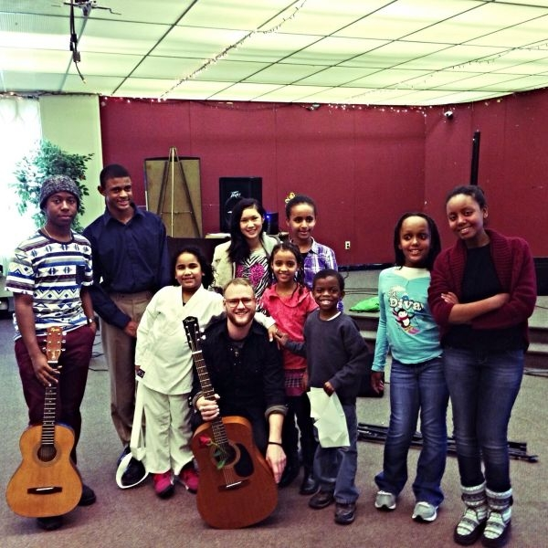 Intercultural Family Services Philly, Guitar class 2013!!