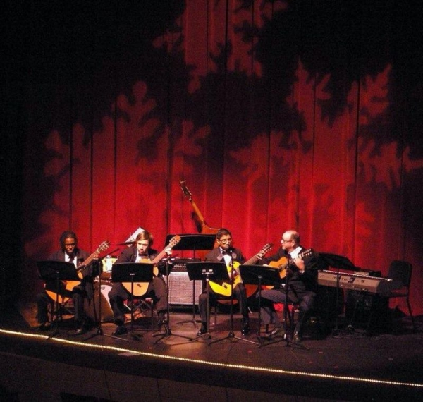 Guitar Ensemble at UNCP- '12