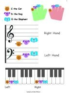 My very own colorful animal curriculum for piano.