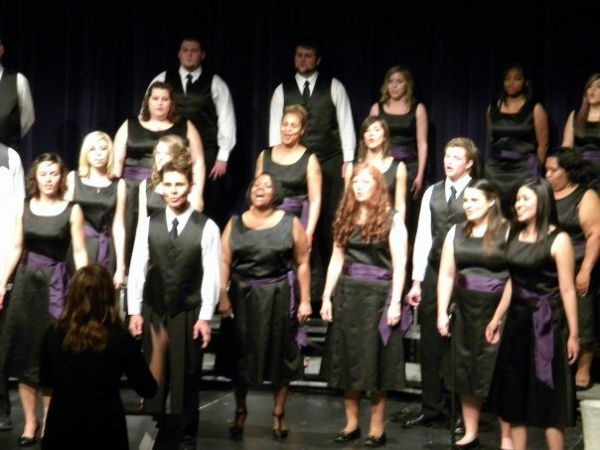 The GCU Canyon Chorale Winter Concert, Fall 2010