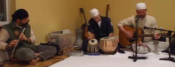 Kirtan music occasion, Portland, OR.