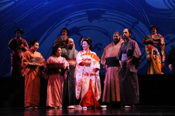 Act 1 of Madama Butterfly with Opera San Jose.