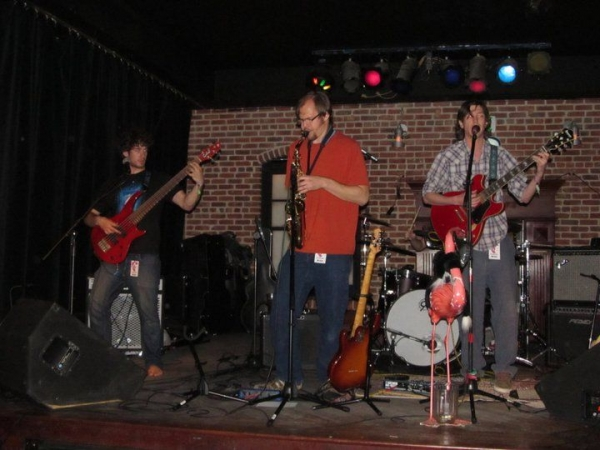 Playing FOCOMX music festival with Colorado jam band The Hot Coal.