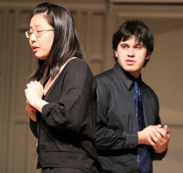 "A duet between Patience (Left) and Grosvenor (Right) from Gilbert and Sullivan's opera, ""Patience"" (April 26, 2013)"
