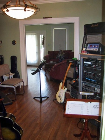 Student perspective of the teaching studio