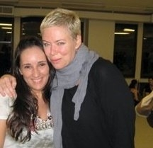 Mia Michaels and I back in the day!