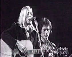 Joni Mitchell and Rob Stoner