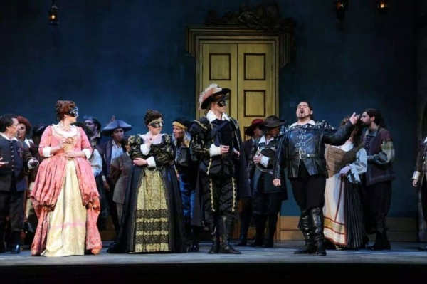 Act 1 of Don Giovanni with Opera San Jose.
