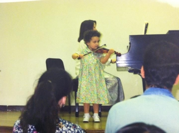 One of my first recitals