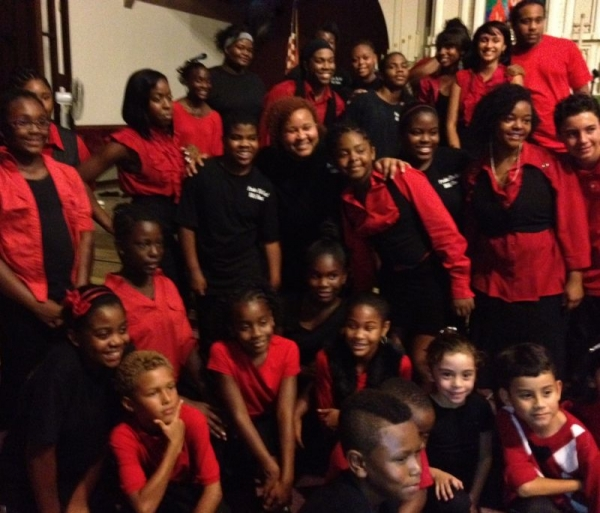 The MADA Children & Youth Choir  I am currently the Director over this Community Children and Youth Choir. .