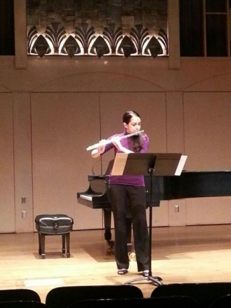 Noon recital at California State University, Northridge.