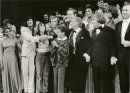 "Leonard Bernstein's ""Mass""  with Mary B Phillips, Leonard Bernstein and cast of ""Mass"".  Kennedy Center, Washington DC"