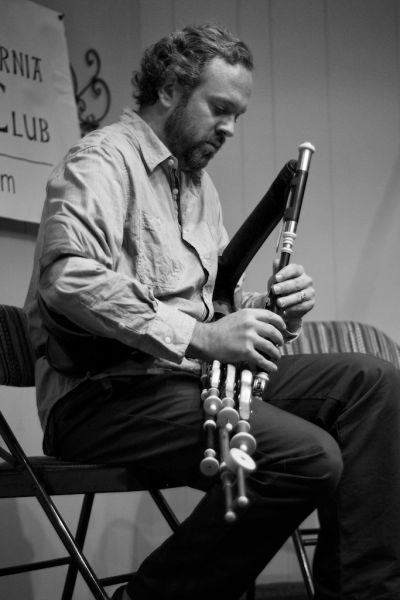 Performing at the Southern California Uilleann Pipers Club annual concert & workshop weekend.