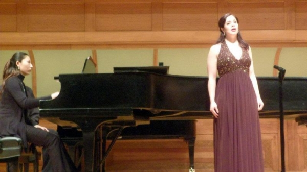 From my Master's Recital