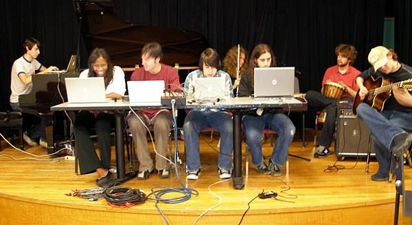 Computer Music Composition Concert at NYU.
