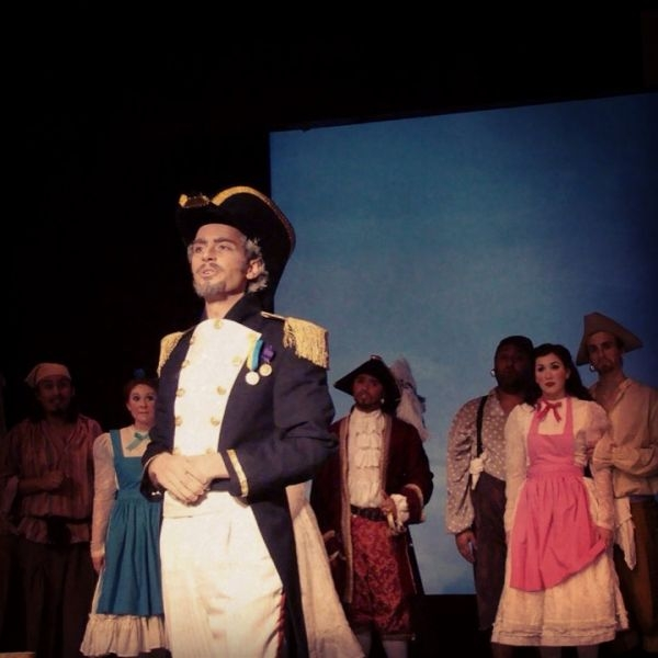 As the Modern Major-General in Pirates of Penzance.