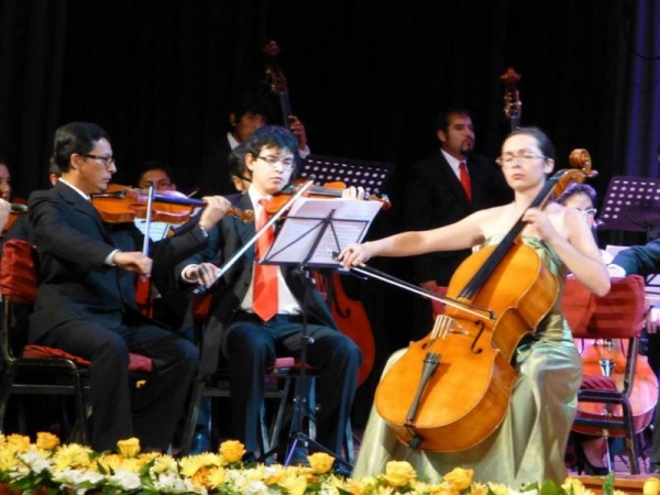 solo appearance with orchestra- Cusco, Peru