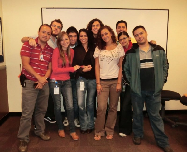 My ESL students at Intel in Costa Rica