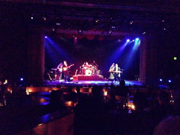 My band, The BGP, at the Triple Door (Seattle, WA) 2014