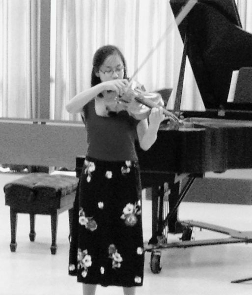 Studio solo performance at Bowling Green State University, Ohio 2014