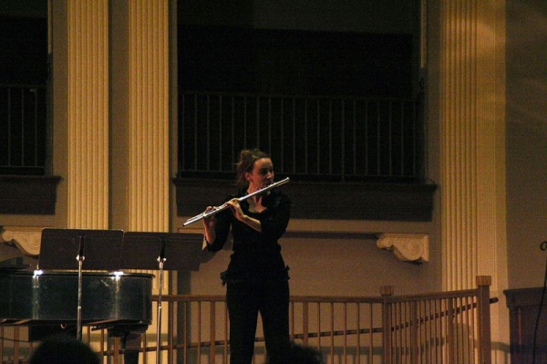 In recital, 2014.