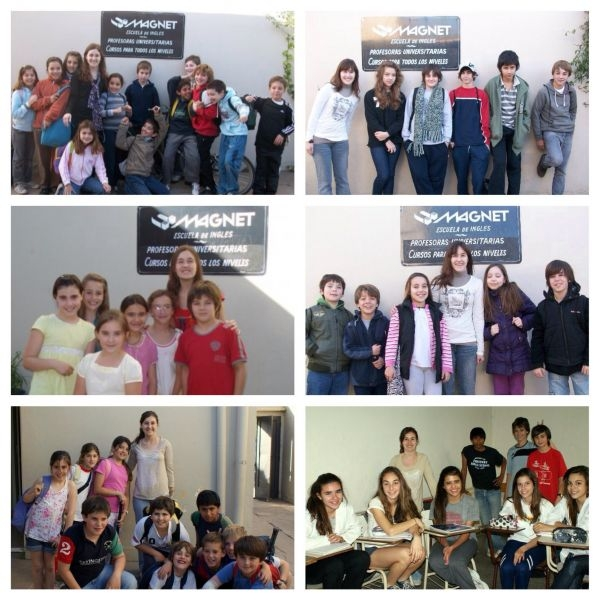 Teaching English to children and adolescents at Magnet, 2009-2012