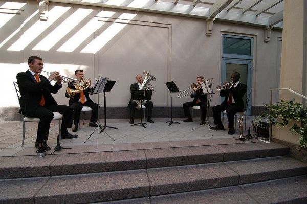Brass Quintet at the Smith Center (Las Vegas)