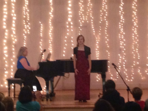 "The lovely Kaity singing ""I Dreamed a Dream""."