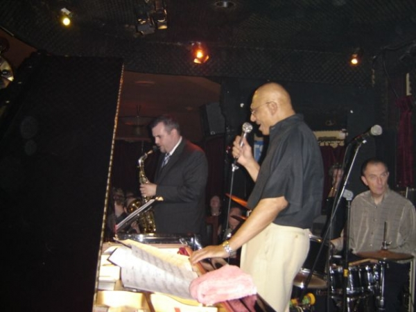 Performing in Paris at the Duc De Lombard with Kirk Lightsey
