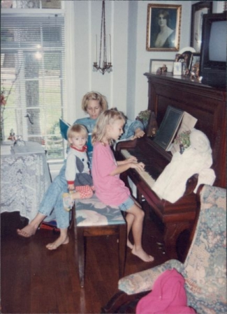 Piano is a family affair!