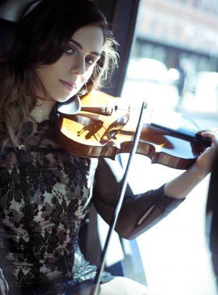 What do you think bout this picture and my violin??