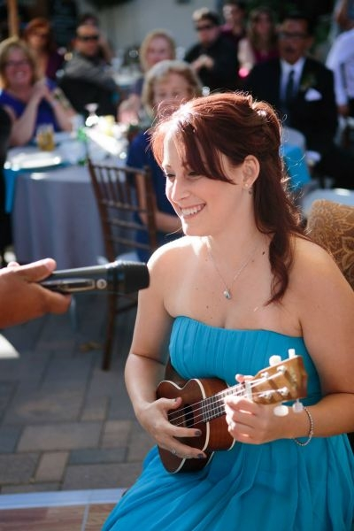 Performing for a friends wedding. 2013