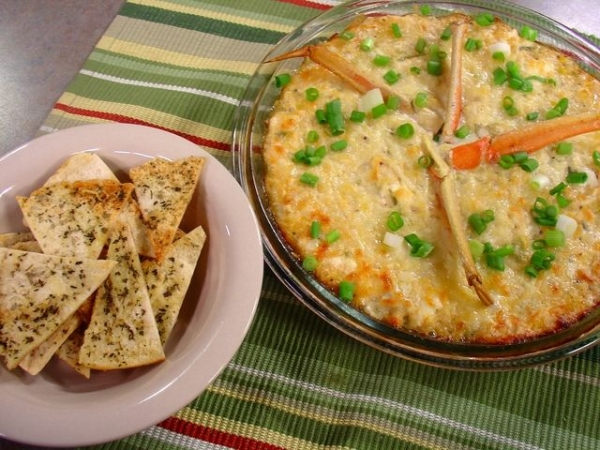 3 Cheese Creole Crab Dip