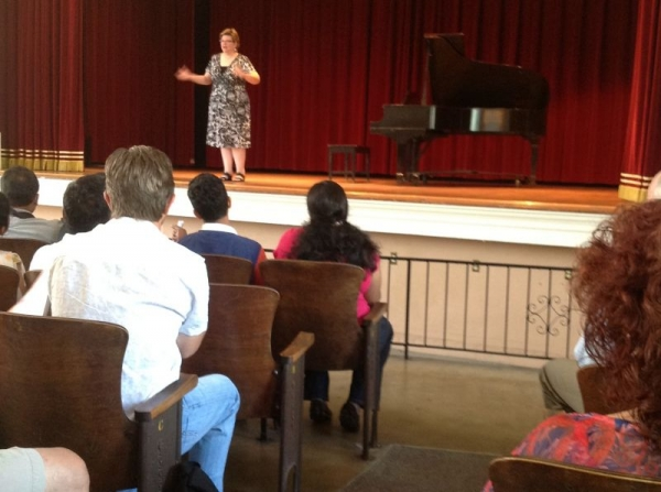 Presentation of my piano students in 2013